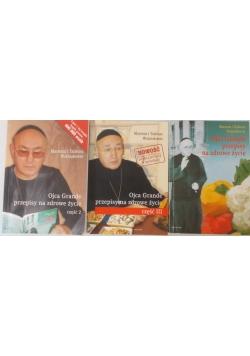 Ojca Grande przepisy na zdrowe życie, 3 książki