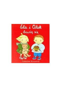 Ela i Olek bawią się