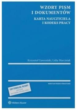 Wzory pism i dokumentów Karta Nauczyciela...