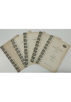 Biblioteka orkiestr tanecznych,  zestaw 5 książek