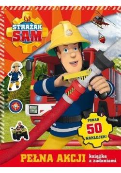 Strażak Sam. Pełna akcji książka z zadaniami