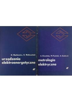 Urządzenia elektroenergetyczne/ Metrologia elektryczna, zestaw 2 książek