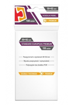 Koszulki Standard European Premium 59x92 (100szt)