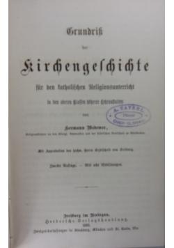 Grundriss der kirchengeschichte, 1882 r.