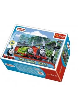 Puzzle 54 mini Przygody Tomka 3 TREFL