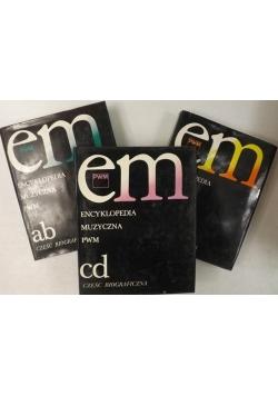 Encyklopedia muzyczna PWM, Tom I-III