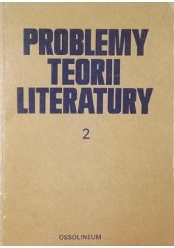 Problemy teorii literatury 4