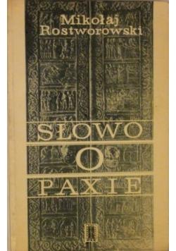 Słowo o Paxie