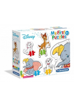 Moje Pierwsze Puzzle Animal Friends