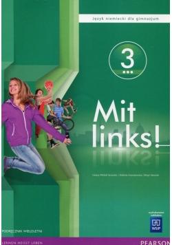 Mit links Język niemiecki 3 Podręcznik wieloletni z płytą CD