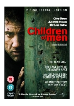 Children of Men, płyta DVD