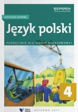 Język polski SP 4. Kształc. językowe. Podr. OPERON