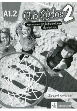 Club @dos 1 A1.2 Ćwiczenia + CD LEKTORKLETT