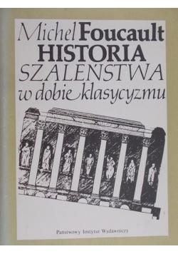 Historia szaleństwa w dobie klasycyzmu