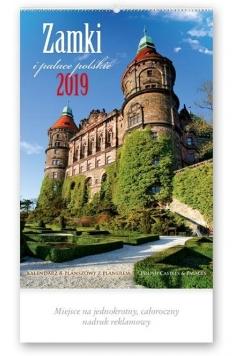 Kalendarz 2019 Reklamowy Zamki i pałace POL. RE2