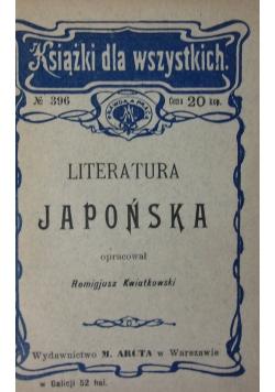 Literatura Japońska 1908 r.
