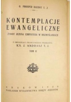 Kontemplacje ewangeliczne tom I, 1929 r