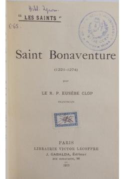 Saint Bonaventure 1922 r
