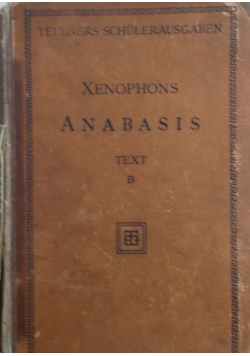 Xenophons anabasis - 1911 r.