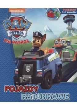 Psi Patrol. Pojazdy ratunkowe
