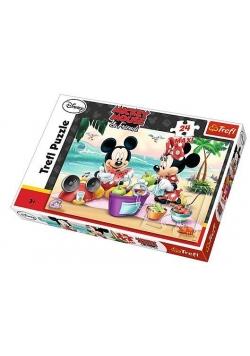 Puzzle 24 maxi Piknik na plaży TREFL