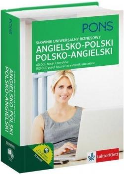 Słownik uniwersalny biznesowy ang-pol, pol-ang.