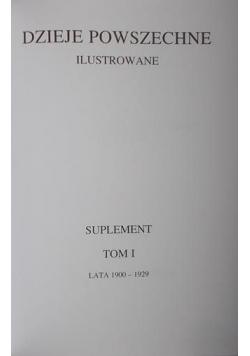 Ilustrowane dzieje powszechne, suplement, tom I