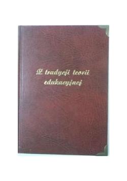 (red.) - Z tradycji teorii edukacyjnej, autograf