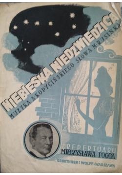 Niebieska niedźwiedzica z repertuaru Mieczysława Fogga