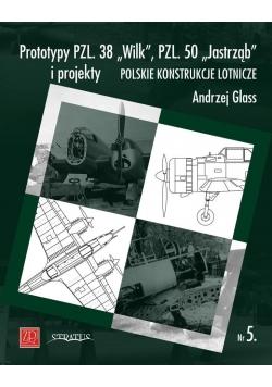 "Prototypy PZL. 38 ""Wilk"", PZL. 50 ""Jastrząb"""