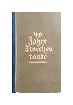 40 Jahre Storchentante aus dem tagebuch einer hebamme, 1930 r.