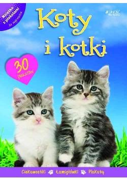 Koty i kotki Książka z plakatami