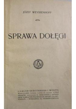 Sprawa Dołęgi, 1901 r.
