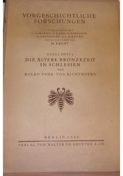 Vorgeschichtliche Forschungen, 1926r.