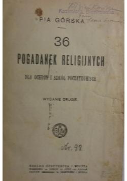 36 pogadanek religijnych, 1920 r.