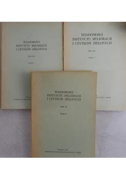 Wiadomości instytutu malioracji i użytków zielonych, Tom VIII,VIII,VII