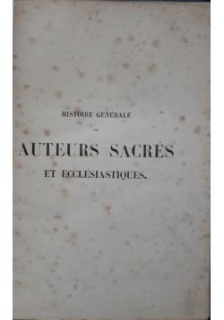 Auteurs sacres, 1862 r.
