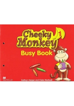 Cheeky Monkey 1 WB MACMILLAN