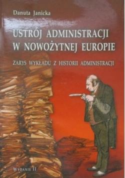 Ustrój administracji w nowożytnej Europie