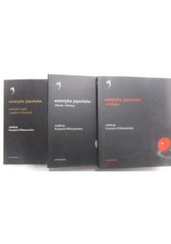 Estetyka japońska, 3 tomy