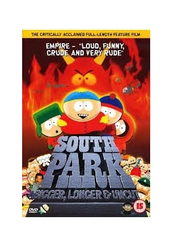 South Park Bigger,Longer,płyta DVD