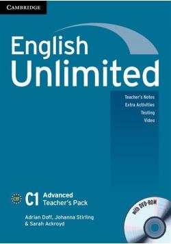 English Unlimited Advanced Teacher's Book + DVD-ROM