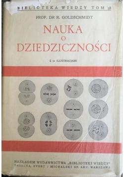 Nauka o dziedziczności, 1938 r.