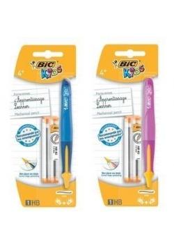 Ołówek Beginners + 6 wkładów mix BIC
