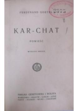 Kar-Chat, 1922 r.