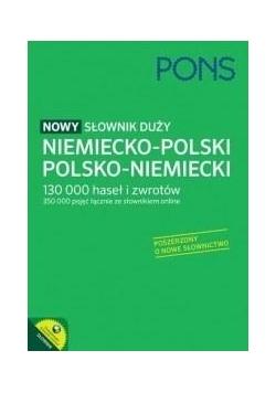Nowy słownik duży niem-pol-niem PONS