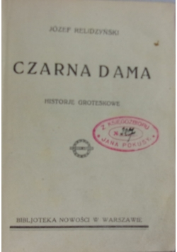 Czarna Dama, 1927 r.