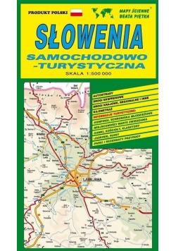 Słowenia 1:500 000 mapa samochodowa PIĘTKA