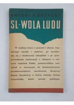 Korzycki Antoni - SL-Wola ludu