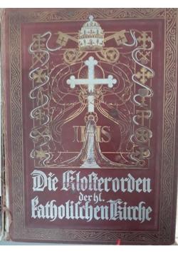 Die klosterorden katholichenkirche, 1895 r.